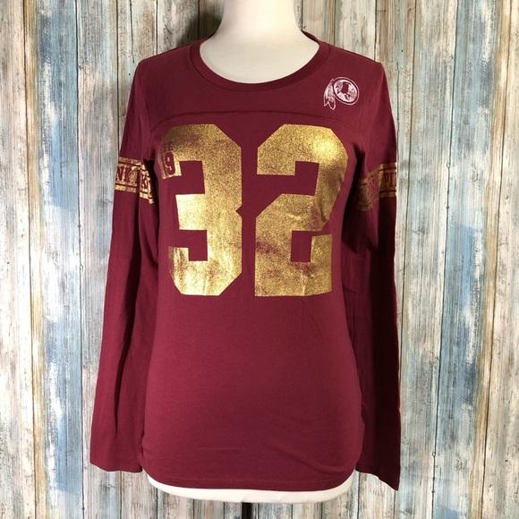 new style a95af 8f908 Pink Washington Redskins long sleeve shirt size M